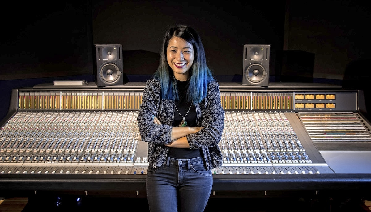 Janice Wong at Abbey Road Institute Amsterdam