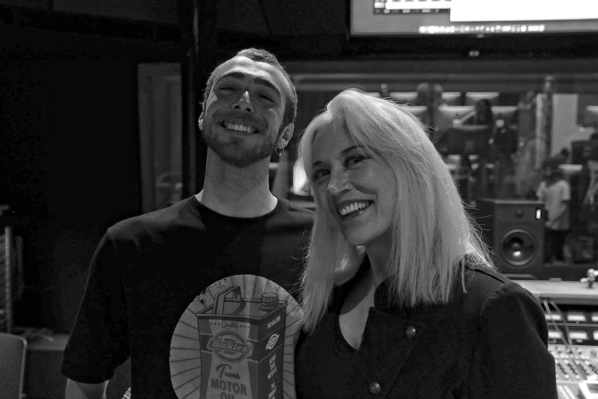 Giorgos Kravvaritis and Sylvia Massy in Amsterdam